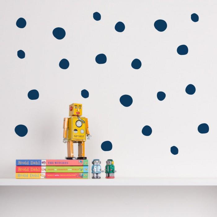 Organic Dot Wall Decals