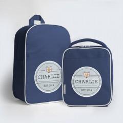 Junior Personalised Backpack Combo