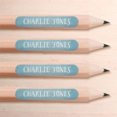 Mini Pencil Name Labels