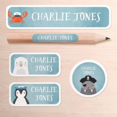 Name Stickers - Stickyville Pack
