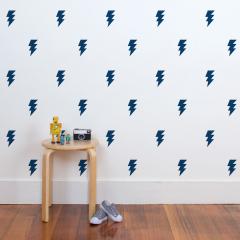 Lightning Bolt Wall Decals