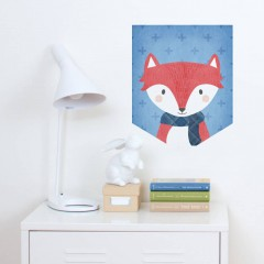 Foxy Wall Banner Decal