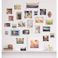 Wall Sticker Photo Frames Set