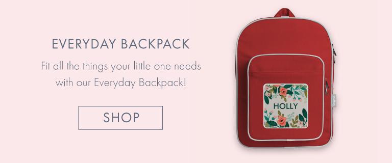 Personalised Everyday Backpack