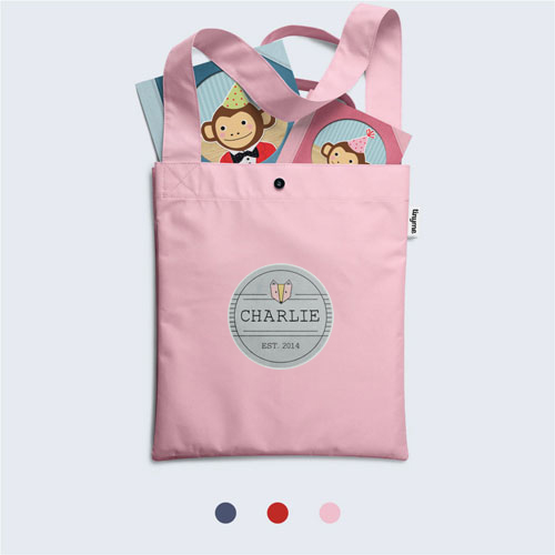 Tinyme Library Bag Red