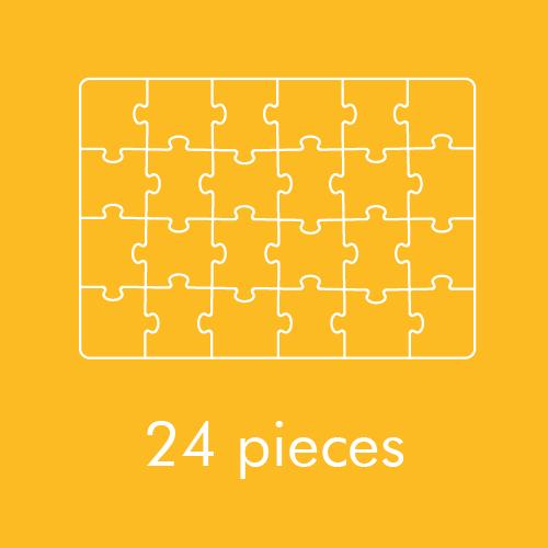 24 pieces