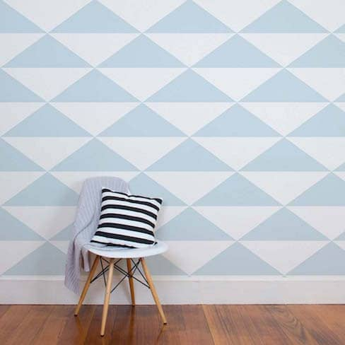 Tinyme Big Triangles Wallpaper