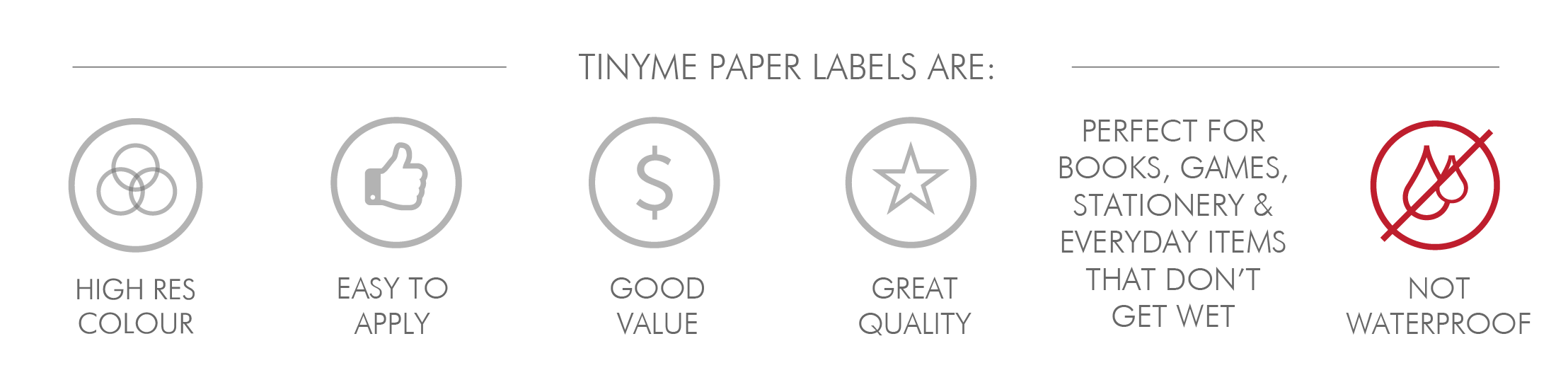 Paper Label Features