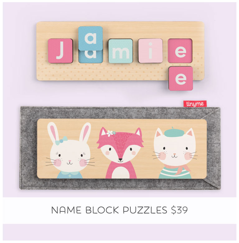Wooden Name Block Puzzle... the perfect Christmas gift!