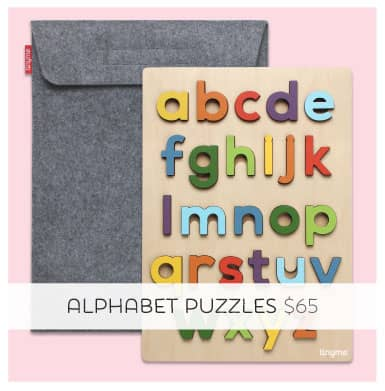 Learning your a,b,c's has never been so stylish!