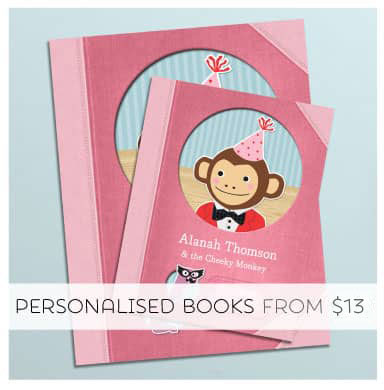 Make your child the star with a Tinyme Personalised Book