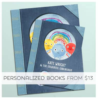 Make your Child the Star with a Personalized Book