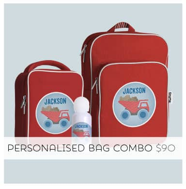 Bag a bargain with our Personalised Bag Combo