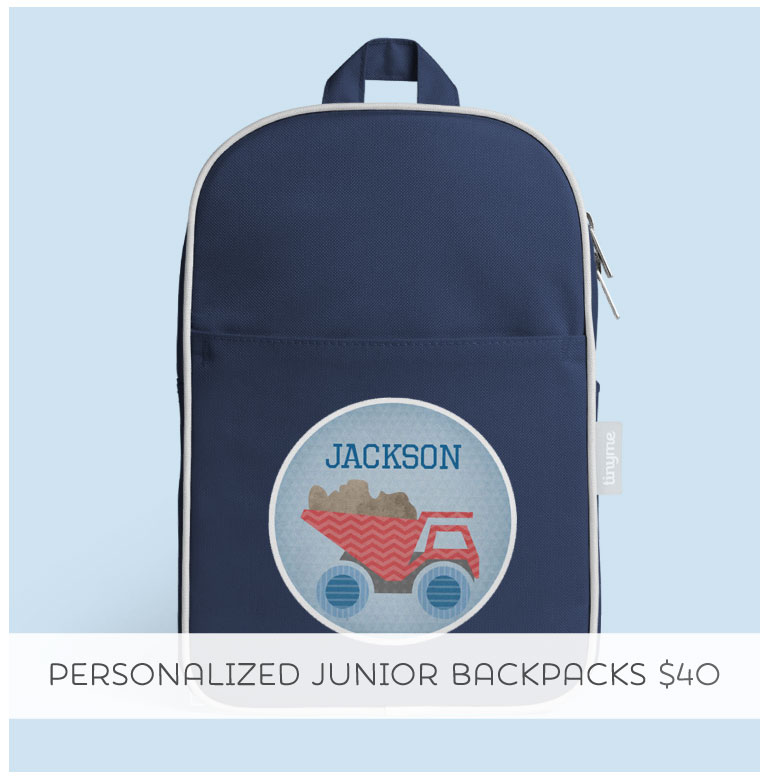 Personalized Junior Backpack... the perfect Christmas gift!