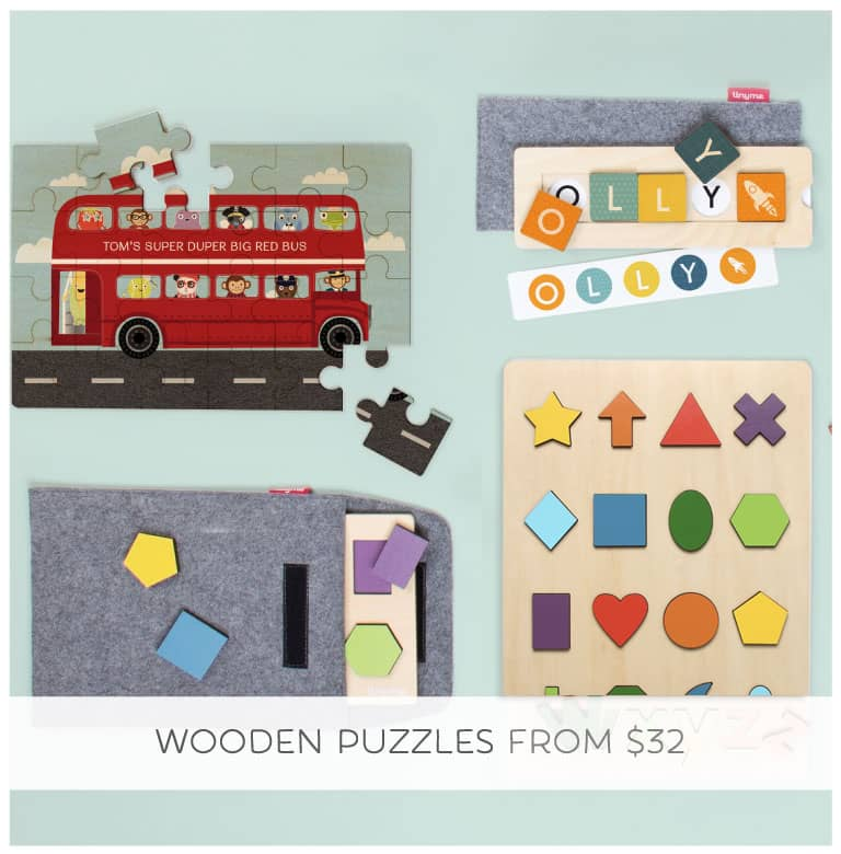 A wood gift is a good gift! Shop Wooden Puzzles.