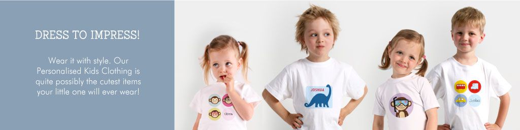 Wear it with style with Tinyme Personalised Tshirts for Kids
