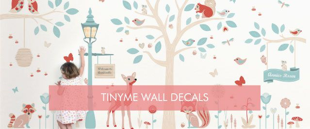 Cure Blank Wall Syndrome with Tinyme Wall Stickers