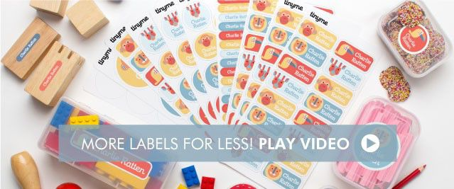 Tinyme Name Label Value Packs