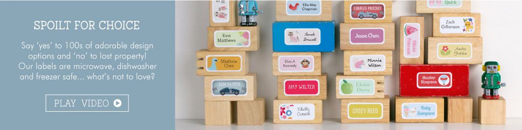 Tinyme Sticky Name Labels