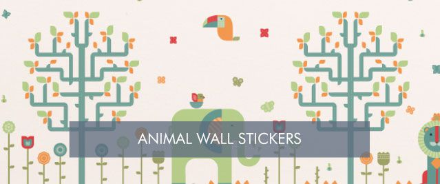 Animal Wall Stickers from Tinyme