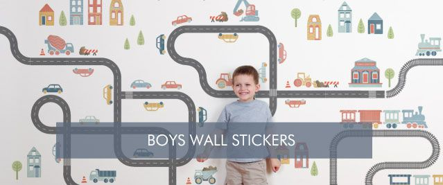 Boys Wall Stickers from Tinyme