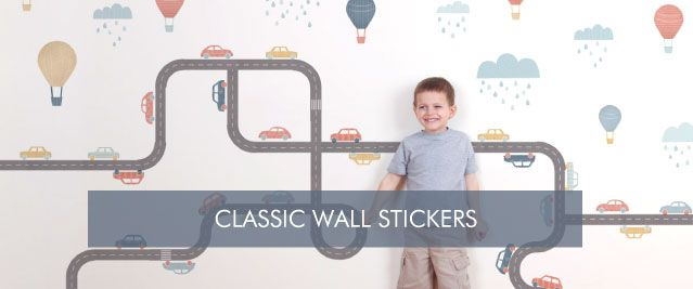 Classic Wall Stickers from Tinyme
