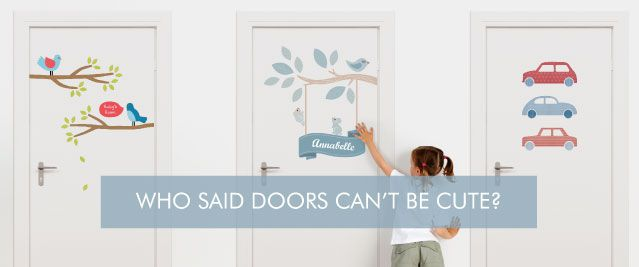 Door Stickers for Kids Rooms