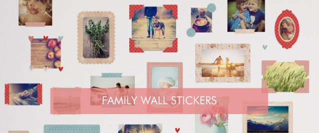 Family Wall Stickers from Tinyme
