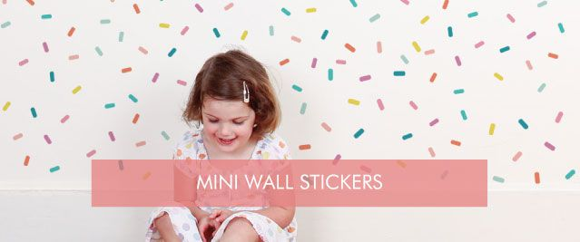 Mini Wall Stickers from $10