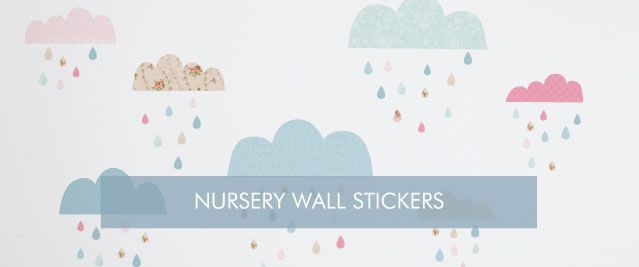 Nursery Wall Stickers from Tinyme