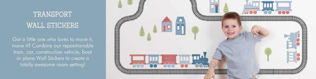 Transport Wall Stickers from Tinyme