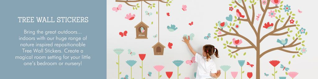 Tree Wall Stickers from Tinyme