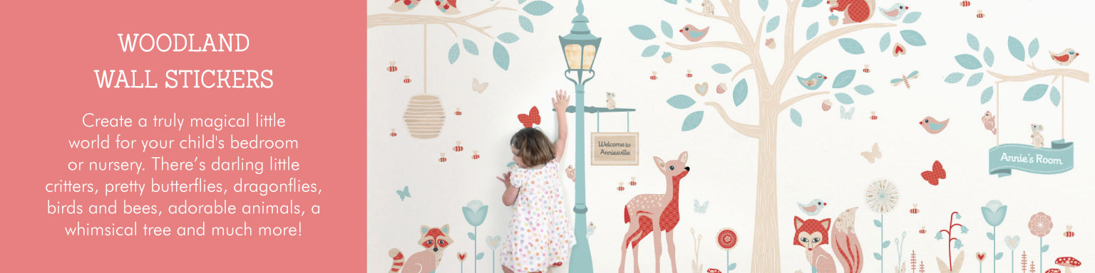 Woodland Wall Stickers from Tinyme