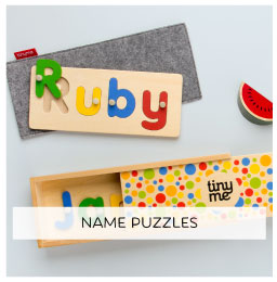 Wooden Name Blocks