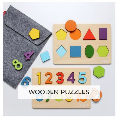 Is Wood. Is Good. Wooden Puzzles for kids.