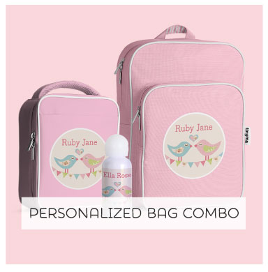 Bag a Bargain with our ultimate back to school Personalized Bag combo!