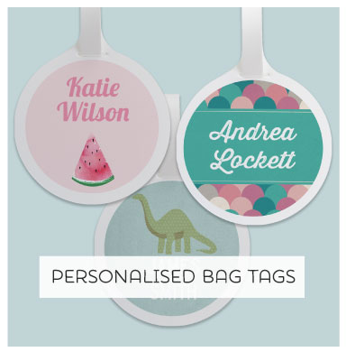 Tinyme Personalised Bag Tags