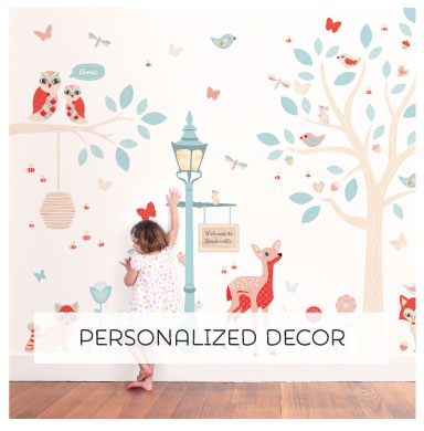 Tinyme Wall Decals are completely removable and repositionable!